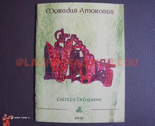 Diseño de Catálogo para la artista Colette Delozanne y su Expo Moradas Amorosas / Design of Catalog for the artist Colette Delozanne and her Expo Moradas Amorosas