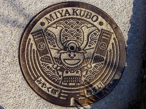 Miyakubo Ehime, manhole cover (愛媛県宮窪町のマンホール)