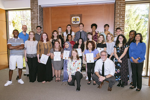 Mu Kappa Induction (Global Studies Honor Society)-85