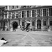 BMX rider in front of the City Hall [variation] by Istvan Penzes