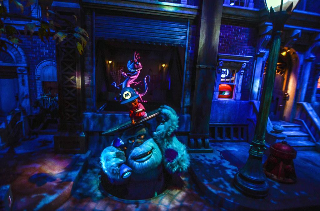 Sulley sewer Monsters Inc ride seek TDL
