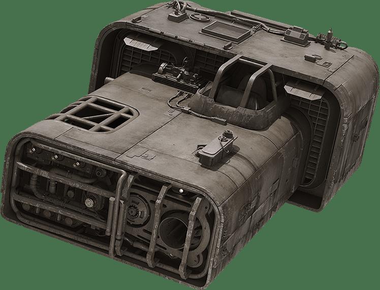 Moloch Landspeeder - Trast Heavy Transports A-A4B Landspeeder