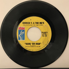 BOOKER T. & THE MG'S:HANG 'EM HIGH(RECORD SIDE-A)