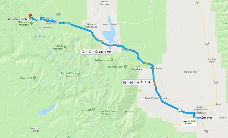 Rumbo a Yosemite: Devils Postpile, Mammoth Lakes y Mono Lake ...
