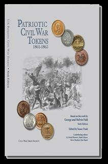 Patriotic Civil War Toekens 6th edition book cover