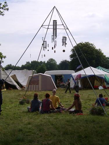 Meditation at Big Green Gathering 2006 Festival