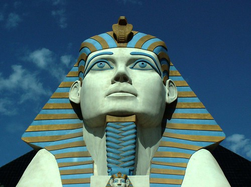 Luxor Sphinx Portrait