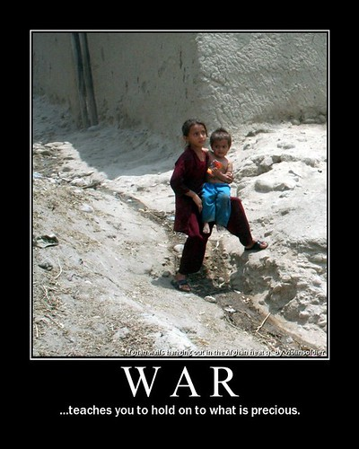 War teaches you to hold on to what is precious.
