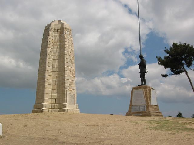 New Zealand Memorial at Chunuk Bair  Flickr - Photo Sharing!