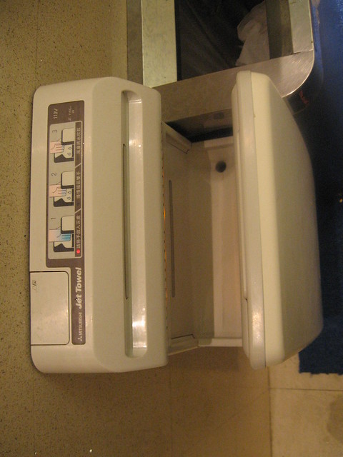 Hand Dryer In Bathroom Flickr Photo Sharing