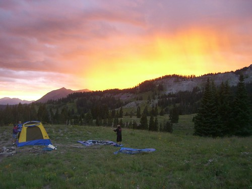 camping crestedbutte august2006