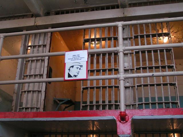 Al Capone Prison Cell in Alcatraz