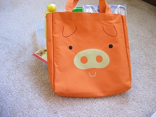 Daiso piggy bag