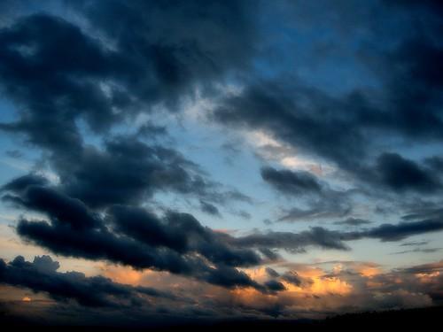 sunset sky beauty clouds finland åbo helluva soumi