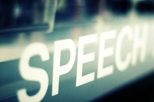 Speech is Silver