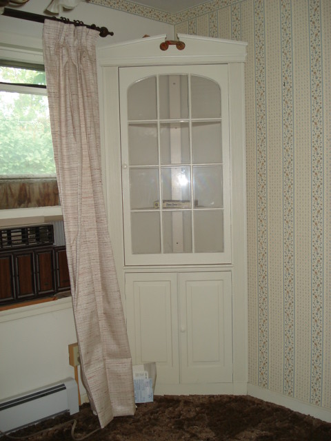 corner hutch in dining room flickr photo sharing