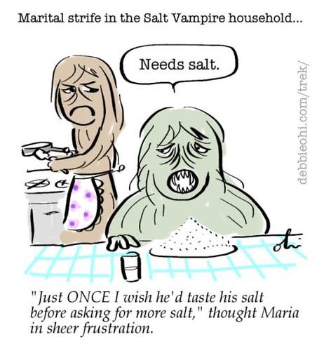 Marital Strife In The Salt Vampire Household Flickr