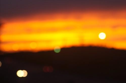 sunset sky orange blur geotagged bokeh northcarolina wilkesboro p2wy