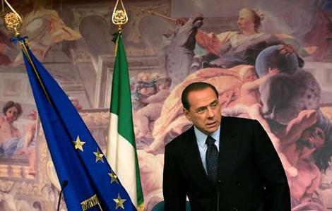 Renzi incontra Berlusconi a Palazzo Chigi
