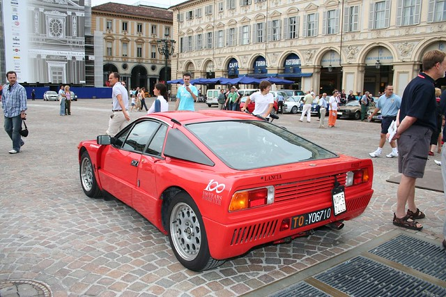 Lancia CENTENARY Celebrations  TORINO Turin 100 year Piazza San Carlo 100th Lancia 037 IMG_7715