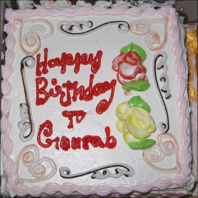 Gaurav Birthday Cake
