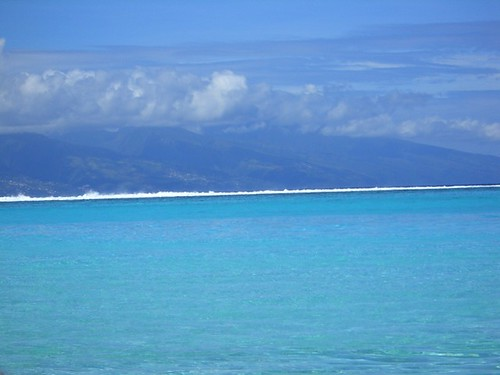 Blue of the south Pacific