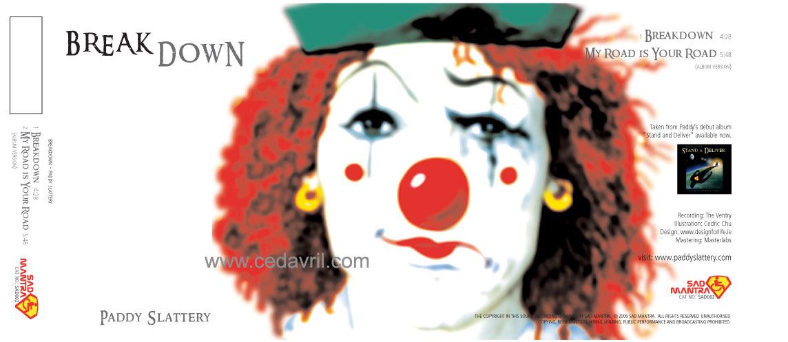 Breakdown Single J-Card CD Cover Alternative