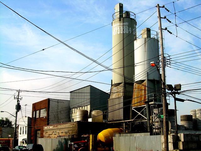 cement factory, gravesend