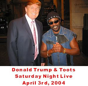 Toots with Donald Trump   Flickr - Photo Sharing!