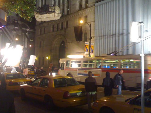 TransLink Trolley Rides Through Downtown New York City