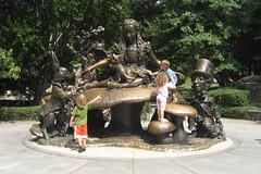 NYC - Central Park: Alice in Wonderland