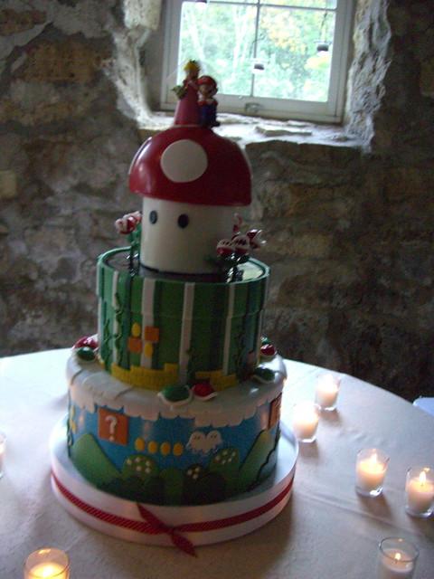 Mario Wedding Cake The Most Amazing Wedding Cake I 39 Ve Ever Flickr