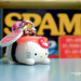 Hello Kitty as a spam musubi by nina.jsc