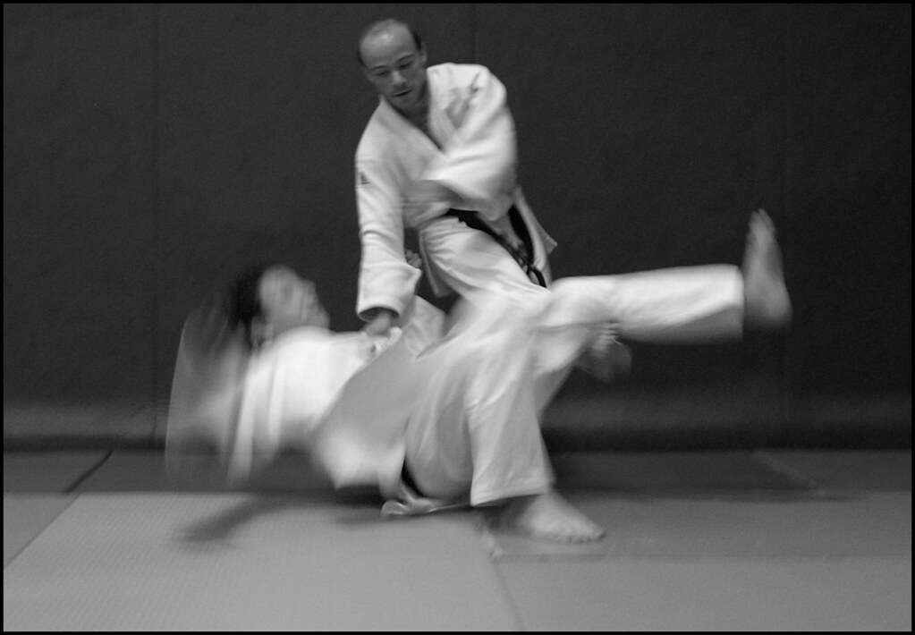 ashiwaza and aikido in the same sentence...