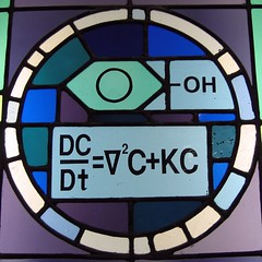 NDU stained glass detail