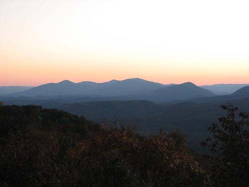 sunset mountain geotagged virginia geo:lat=3785525 geo:lon=7996475