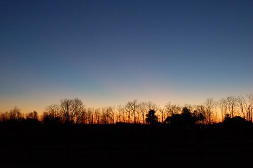 sunset kentucky versailles