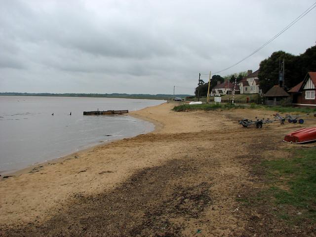 The River Deben at Bawdsey