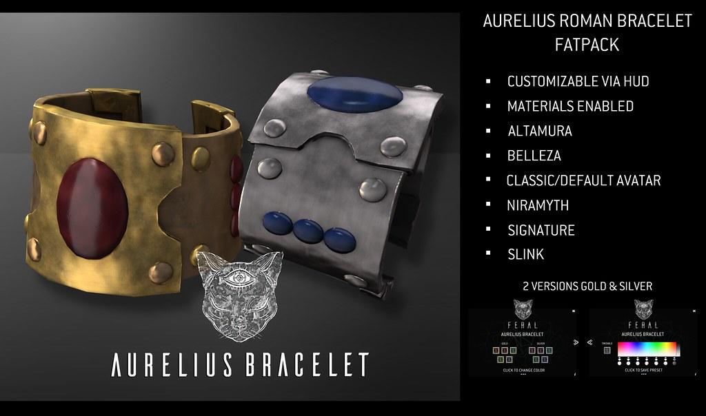 Feral – Aurelius Roman Bracelet