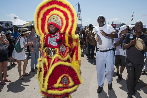 Creole Wild West at Jazz Fest Day 7 on May 5, 2018. Photo by Ryan Hodgson-Rigsbee RHRphoto.com