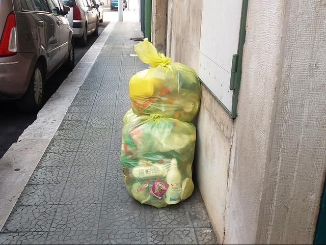 raccolta plastica