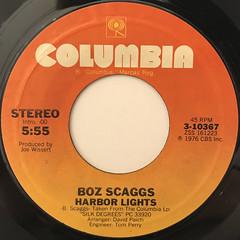BOZ SCAGGS:LOWDOWN(LABEL SIDE-B)