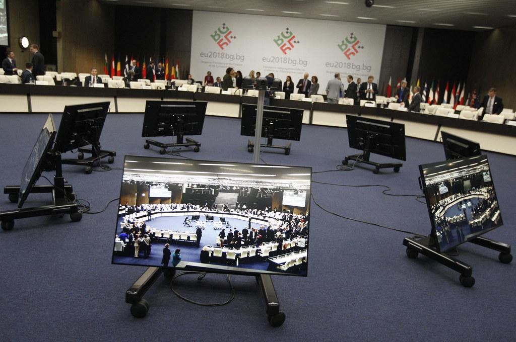 """Неформален съвет по транспорт, телекомуникации и енергетика - Формат """"Енергетика"""":  Атмосфера преди заседанието"""