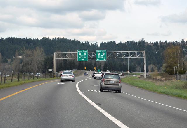 SR 512 @ SR 167 northward