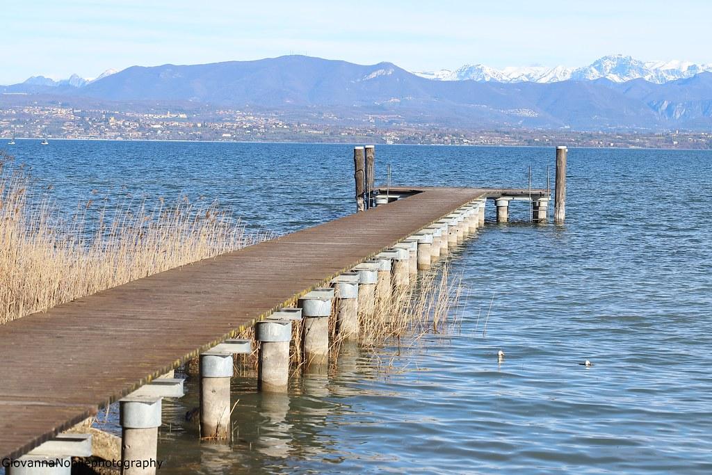 Girando per il lago