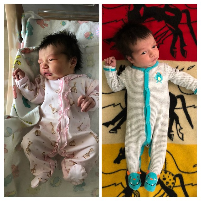 Adrian, 2 days and 2 weeks