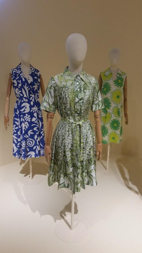 Платье из набивного ацитата. Дом моды Damina. Италия, конец 1960-х гг. Приобретено в ГУМе.