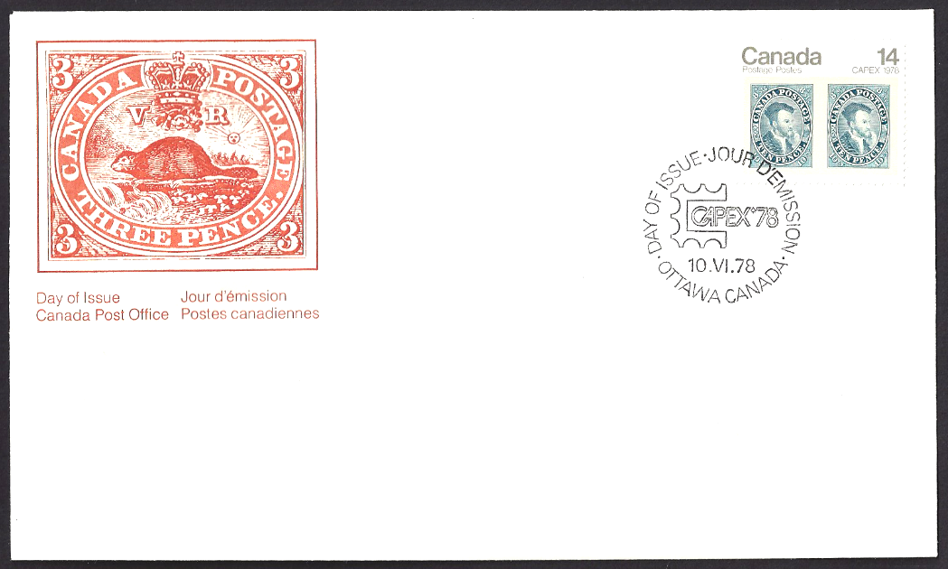 Canada - Scott #754 (1978) first day cover