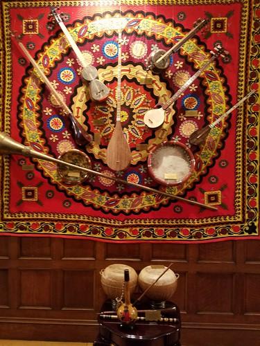 Uzbek Tapestry & Instruments