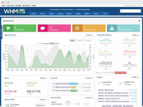 WHMCS v7.7.1 – Web Hosting Billing & Automation Platform